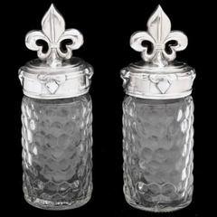 Arthur Court Fleur-De-Lis Salt & Pepper Set (103512)