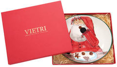 Vietri Old St. Nick Boxed Cookie Plate (OSN-7839)