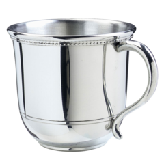 """Engraved Pewter """"Images of America"""" Baby Cup (IABC05)"""