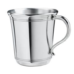 """Engraved Pewter """"Carolina"""" Baby Cup (SCCB05)"""