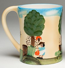 Clementine Hunter Pecan Picking Mug (CH-3800)