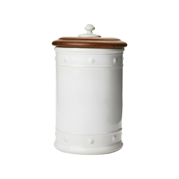 "Juliska > Berry & Thread Whitewash > 11 1/2"" Canister"