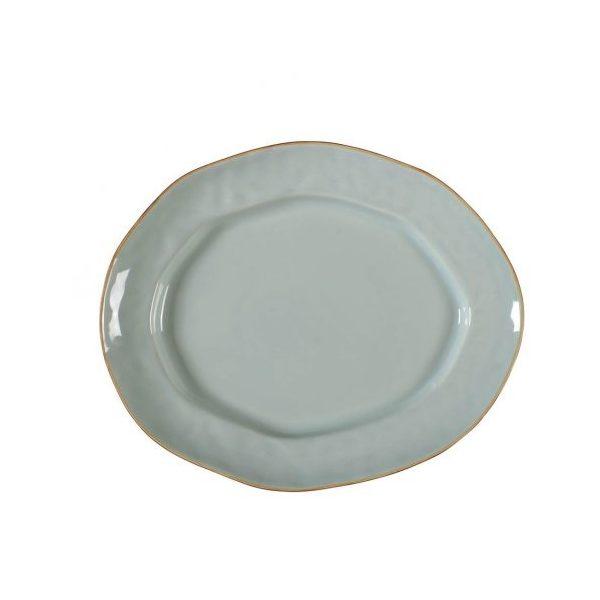 Skyros > Cantaria > Oval Platter (Sheer Blue)