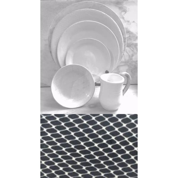 Terrafirma Ceramics > Black > Taj Baquette Tray