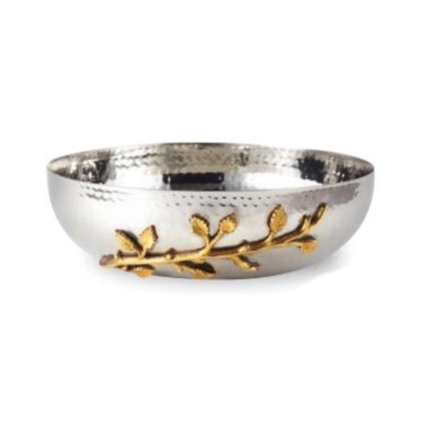 Leeber Limited > Gold Vine Serving Bowl