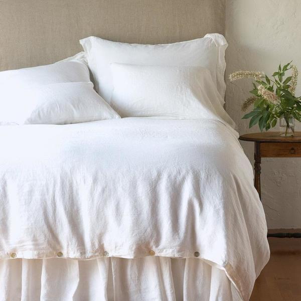 Bella Notte Linens Linen Duvet Cover - Queen or King