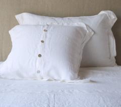 Bella Notte Linens Linen Sham - Standard, King, Euro or Deluxe