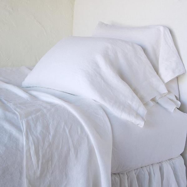 Bella Notte Linens Linen Pillowcase - King or Standard