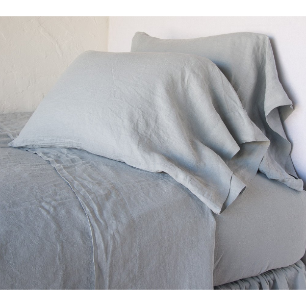 Bella Notte Linens Linen Fitted Sheets - Twin, Twin XL, Full, Queen, California King or Eastern King
