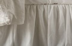 Bella Notte Linens Linen Bed Skirt - Full/Queen or Cal/East King