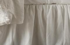 Bella Notte Linens Linen Bed Skirt - Full/Queen or Cal/East King