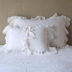 Bella Notte Linens Linen Whisper Sham - Royal, Deluxe, Euro, King or Standard