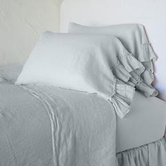 Bella Notte Linens Linen Whisper Pillow Case - Standard or King