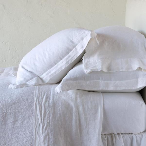 Bella Notte Linens Linen Flat Sheets - Twin, Queen or King