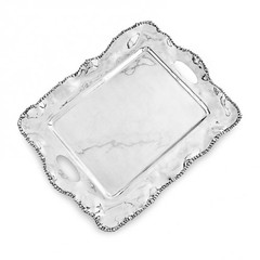 Beatriz Ball Pearl Kristi Rectangle Tray w/Handles (6791)