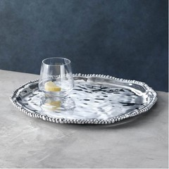 Beatriz Ball Pearl Round Tray (6232)
