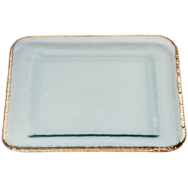 Annieglass Edgey Large Square Platter (E204G)