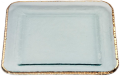 Annieglass Edgey Large Square Platter (E204G)