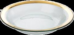 Annieglass Roman Antique Tossing Bowl (G222)