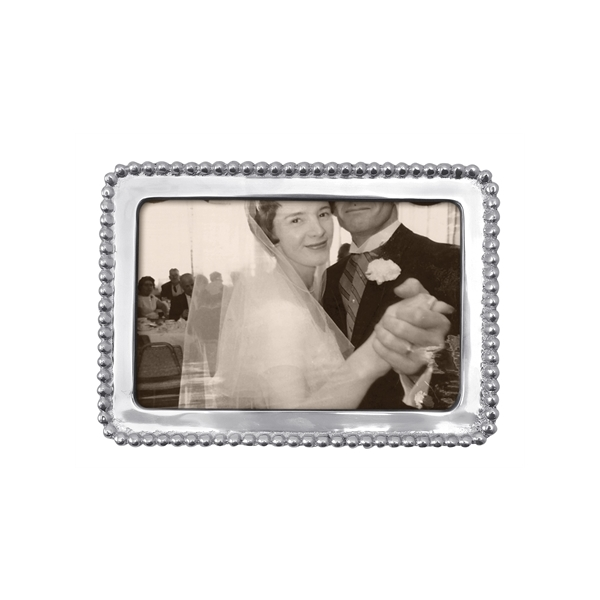 Mariposa > Classic Collection > 4x6 Beaded Frame