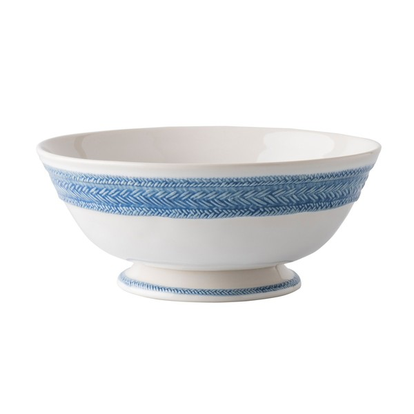 Juliska > Le Panier Delft Blue > Footed Fruit Bowl