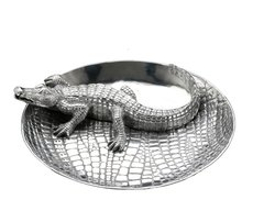 Arthur Court Alligator Chip & Dip (10-3342)