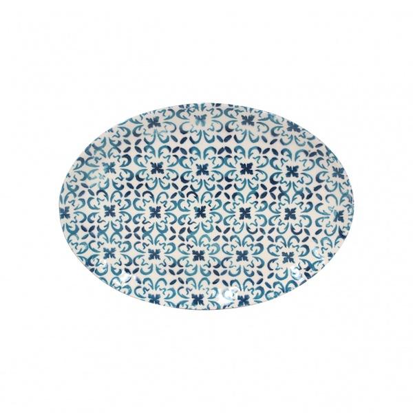 Casafina > Piastrella Blue > Oval Platter