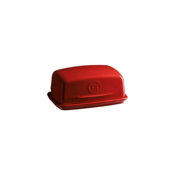 Emile Henry > Butter Dish (Red)