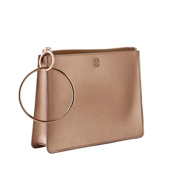 O-Ring Keychain Big O Bracelet Bag - Rose Gold