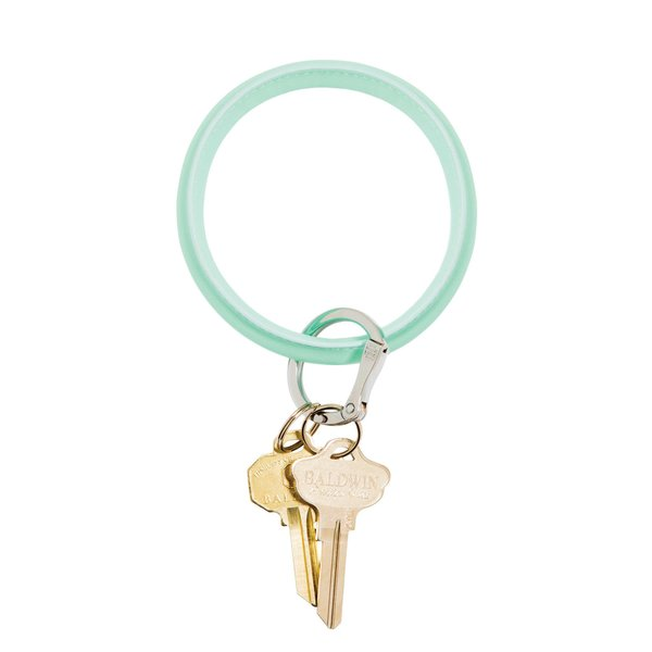O-Ring Keychain Big O Key Ring - Pistachio