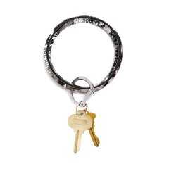 O-Ring Keychain Big O Key Ring - Tuxedo Snakeskin
