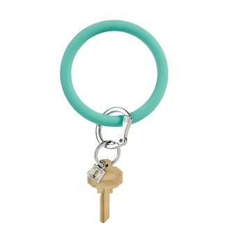 O-Ring Keychain Big O Key Ring - In The Pool Silicone