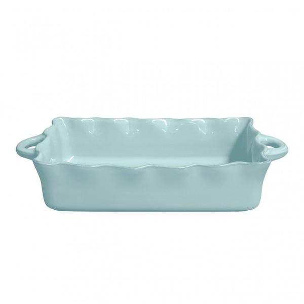 Casafina > Ruffle Blue > Large Rectangle Baker