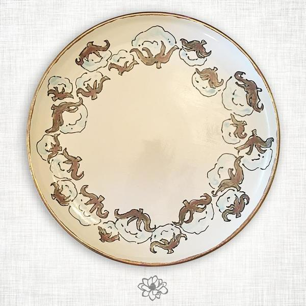 Magnolia Creative > Cotton Large Round Tray