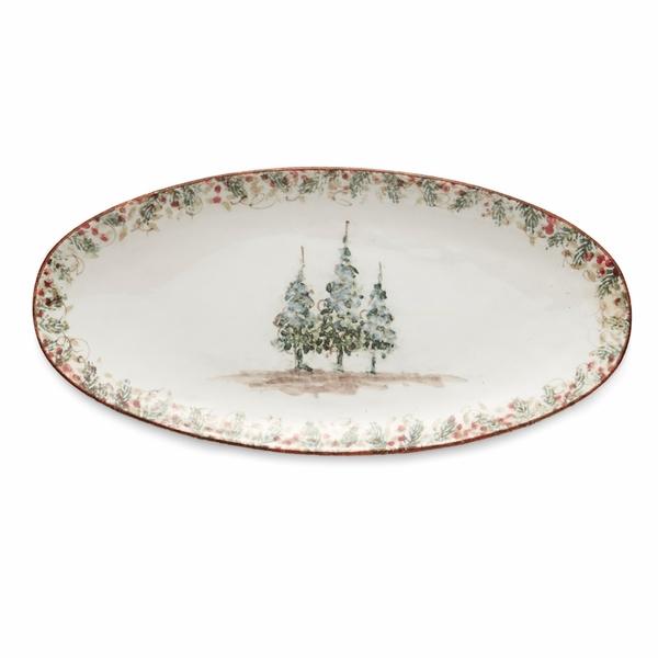 Arte Italica > Natale > Long Oval Platter