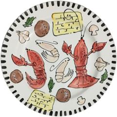 Magnolia Creative Crawfish Dinner Plate