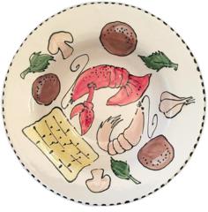 Magnolia Creative Crawfish Pasta Bowl