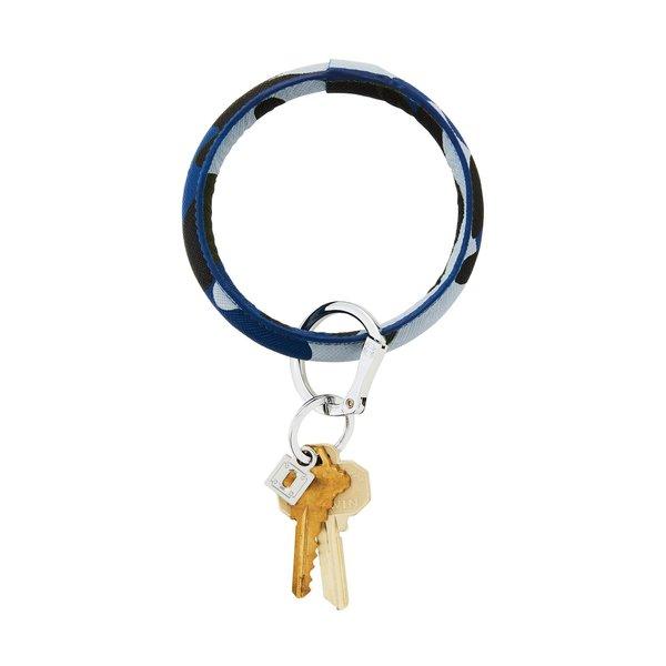 O-Ring Keychain Big O Key Ring - Blue Camp