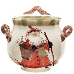 Vietri Old St Nick Biscotti Jar (OSN-7844)