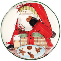 Vietri Old St Nick Cookie Platter (OSN-7823)
