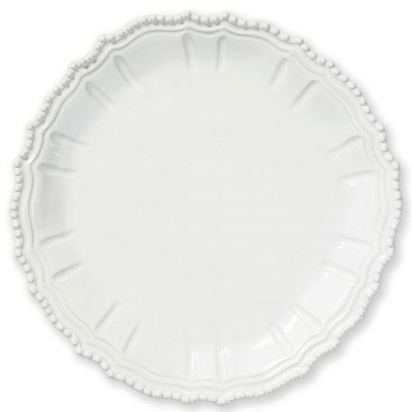 Vietri > Incanto Stone White > Baroque Round Platter