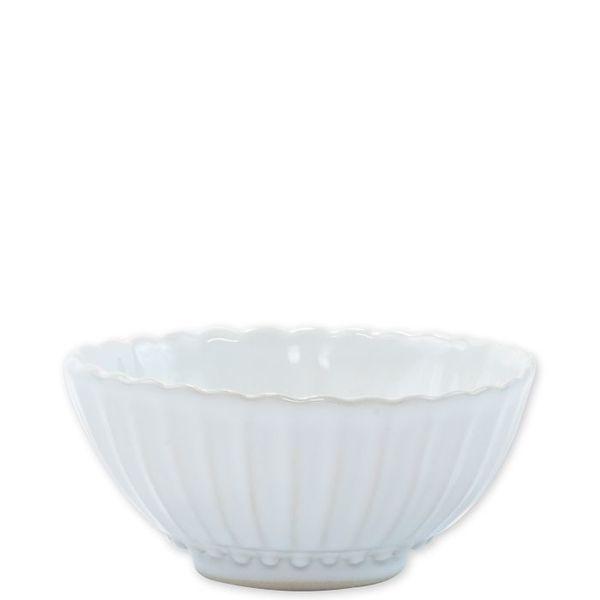 Vietri > Incanto Stone White > Stripe Small Bowl
