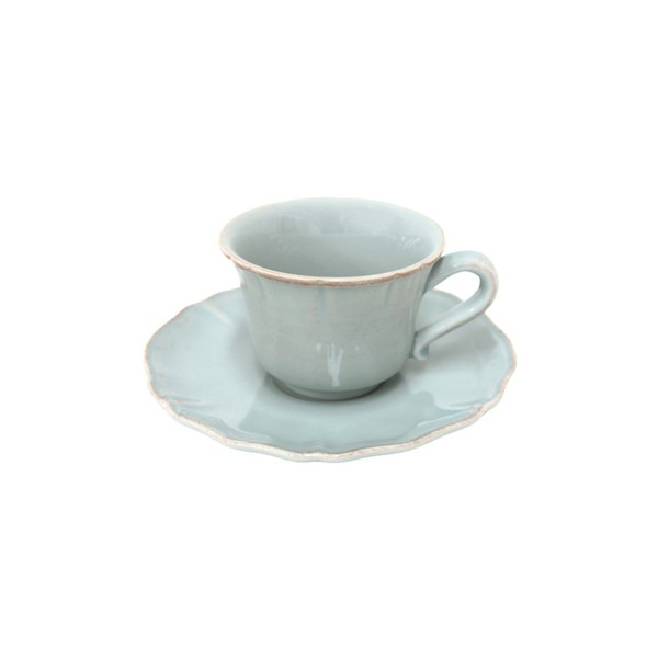 Costa Nova > Alentejo Turquoise > Tea Cup and Saucer