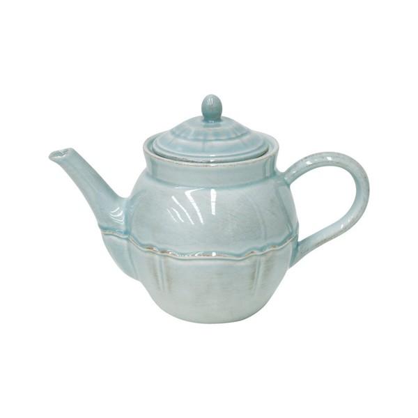 Costa Nova > Alentejo Turquoise > Tea Pot - 51 oz