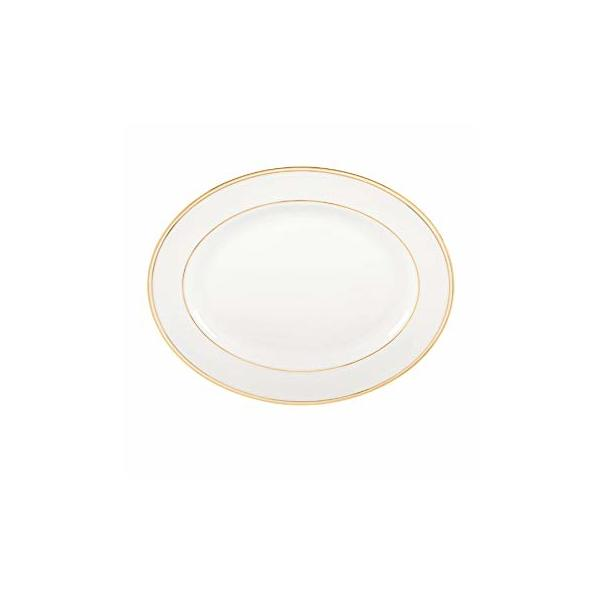 "Lenox > Federal Gold > Oval Platter - 16"""