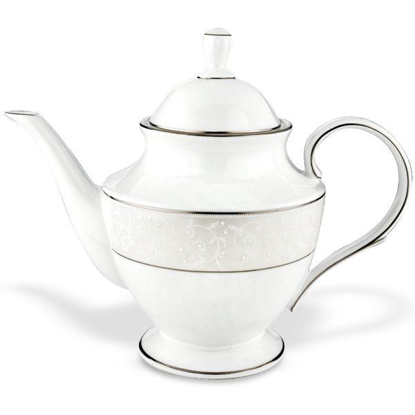 Lenox > Pearl Innocence > Teapot