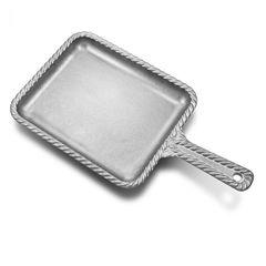 Wilton Armetale Gourmet Grillware Handled Rectangular Skillet