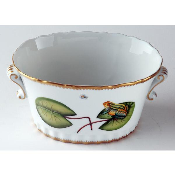 Anna Weatherley > Seascape > Oval Frog Cache Pot