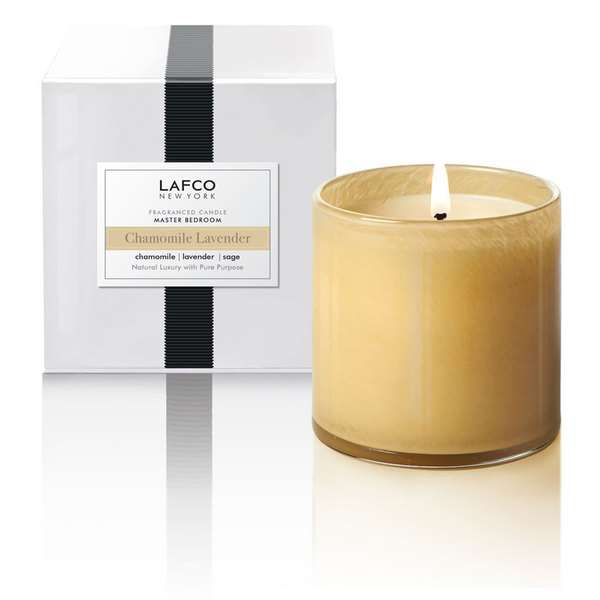 LAFCO New York Chamomile Lavender Master Bedroom Classic 15.5oz Candle