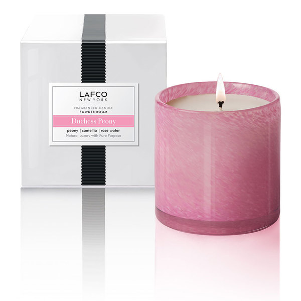LAFCO New York Duchess Peony Powder Room Classic 15.5oz Candle